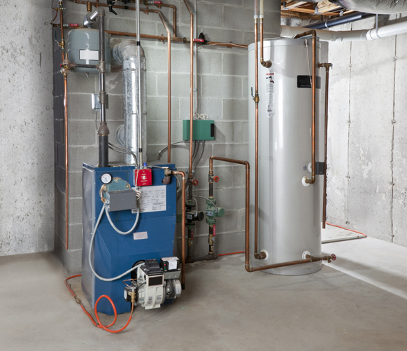 Furnace Hot Water Tank